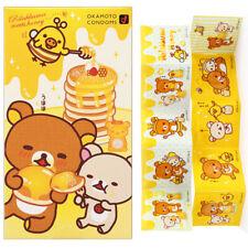 Okamoto Condom Rilakkuma Honey Flavour Lubricant Pink Extra Lubricated Cartoon