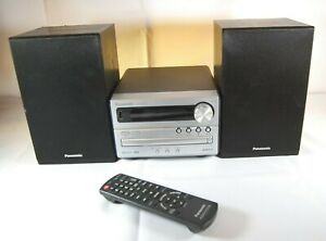 Panasonic Mini Hi-Fi System SA-PM250 Stereo AM/FM Radio CD Player Bluetooth USB