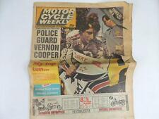 UK Motor Cycle Newspaper September 1981 Road Race Motocross Yamaha Suzuki L1167