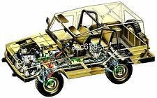 VW Iltis / 1978 - Bild Schnittzeichnung