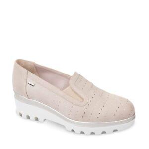 VALLEVERDE 45111 Mokassins Schuhe Slip-On Frauen Leder