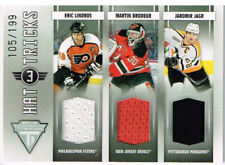 11-12 Titanium HAT TRICKS xx/199 Made! BRODEUR - LINDROS - JAGR