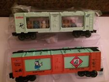 Lionel 29624 Monopoly Money & 29635 Get Out of Jail Mint Cars New in Boxes!
