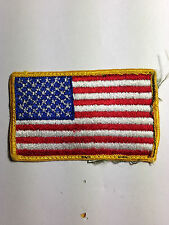 MILITARY - U.SA. AMERICAN FLAG TACTICAL- ARMY MORALE MILITARY BADGE