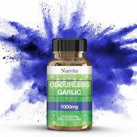 High Strength Odourless Garlic 1000mg 120 Capsules | Healthy Heart & Circulation
