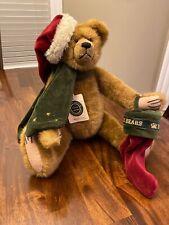 Boyds Bears Plush Nickleby S Claus Bear