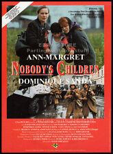 NOBODY'S CHILDREN__Original 1994 Trade print AD movie promo / poster_ANN-MARGRET