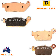 FRONT REAR Sintered Brake Pads HONDA XR 400 M Supermotard ND08 NC38E 2006-2008