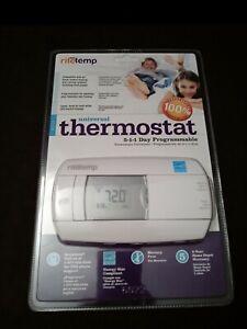 RiteTemp 6022 Universal Thermostat 5-1-1 Day Programmable NEW