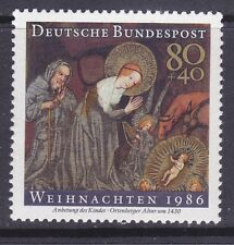 Germany B651 MNH 1986 Adoration of the Infant Jesus Christmas Issue VF