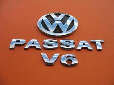 01 02 03 04 05 VW PASSAT SEDAN V6 REAR LID EMBLEM LOGO BADGE SIGN SYMBOL SET #4