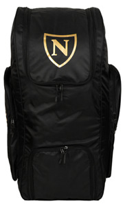 2021 Newbery N Series Black Gold Big Duffle Cricket Kit Bag Size 90 x 39 x 39cm