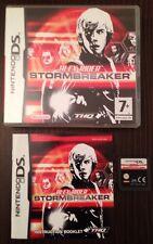Alex Rider Stormbreaker JEU POUR DS Dsi DS Lite 3DS NINTENDO COMPLET & boxed.