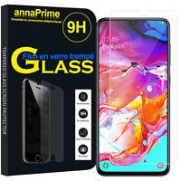 """1 Film Verre Trempé Protecteur Écran Samsung Galaxy A70 6.7"""" SM-A705F/ SM-A7050"""