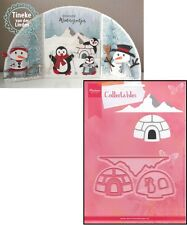 Marianne Design Collectables - Eline's Igloo & Mountain Craft Die Set COL1417