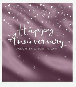 Hallmark Daughter and Son-in-law Anniversary Card