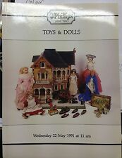 Phillips Auction Catalogue Toys & Dolls 22/05/1991 Robot toys Dinky