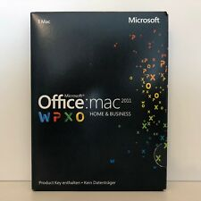 MICROSOFT OFFICE 2011 HOME AND BUSINESS MS PKC DEUTSCH WORD EXCEL OUTLOOK ETC.