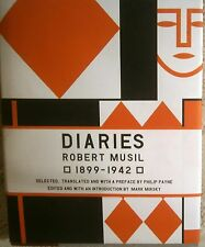 "Rare ROBERT MUSIL DIARIES 1899-1941 1st US HB/DJ ""The Man without Qualities"""