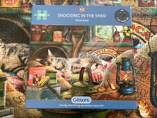 Gibsons Snoozing In The Shed 1000 Piece Puzzle Bought New By Myself Done Once