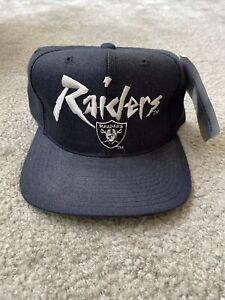 Vintage NFL Los Angeles Raiders Snapback Hat New Era NWT