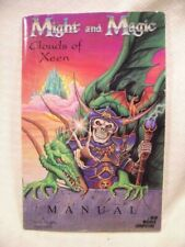MIght & Magic Clouds of Xeen 1992 Instruction Manual New World Computing
