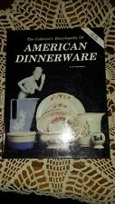 Encyclopedia of American Dinnerware - Patterns Makers Marks / Book + Values