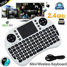 2.4GHz Fly Air Clavier Sans Fil QWERTY Pavé Tactile pour PC portable Android TV Box
