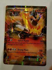 POKEMON Emboar EX 14/122 - XY Breakpoint - Ultra Rare Holo MINT/NM