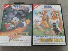 Deep Duck Trouble & Lucky Dime Caper Sega Master System - Sehr guter Zustand!