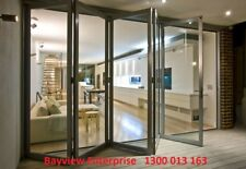 Aluminium Bifold Doors & Windows CUSTOM SIZES AT BARGAN PRICES