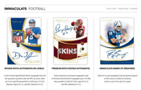 2019 IMMACULATE FOOTBALL HOBBY LIVE RANDOM PLAYER 1 BOX BREAK #1