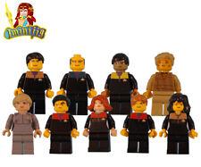 Custom LEGO minifigure X9 Star Trek The Voyager Crew Janeway Seven of Nine