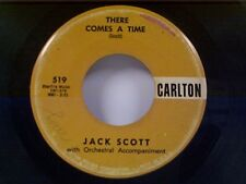 "JACK SCOTT ""THERE COMES A TIME / BABY MARIE"" 45"