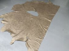 Large Half Hide Of Crest Selvaggio Hare Upholstery And Craft Leather