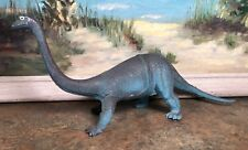 Brachiosaurus 1985 Imperial Dinosaur 12� Long Bintage Rubber Toy Action Figure
