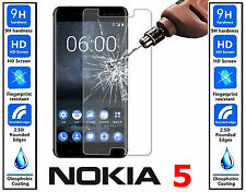 Genuine 100% TEMPERED GLASS Invisible Screen Protector For Nokia 5