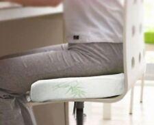 Uniwide HO0086 Bamboo Memory Foam Seat Cushion - White