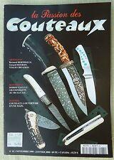 Rivista/magazine coltelli/lame ''La Passion des Couteaux'' N. 61
