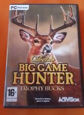 GIOCO PC DV ROM - CABELA'S BIG GAME HUNTER TROPHY BUCKS - MANUALE ITALIANO