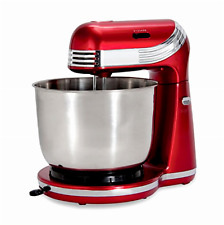 Classic Stand Mixer 6 Speed 2.5qt Pint Red Kitchen Dough Bread Cake Cooking Gift