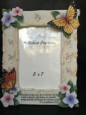 Christian Jesus - A. Richesco 5x7 Picture Frame - If any man be in Christ Gift