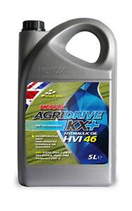 Kerax ISO 46 HVI Hydraulic Oil High Viscosity Index Fluid DIN 51524 5 Litre 5L