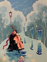 Zina Rothman Listed Artist - Musician - 06/200 - Signed Serigraph 1993 - 22 x 30
