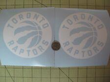 Toronto Raptors (2) X 5 Inch car decals