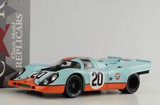 1970 Porsche 917k #20 Gulf 24 H le Mans Siffert Redman 1:18 Cmr Diecast
