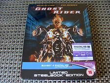 Blu Steel 4 U: Ghost Rider : Limited Edition Steelbook & UV Sealed  Nicolas Cage