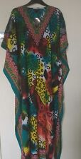 **Sale**L@@K**Women's New Plus Size Cotton Long Kaftan Dress Size 12-26