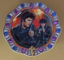 Forever the King Rock 'N Rebel Elvis Presley Plate Mib + Coa #5 Fifth Issue Tcb