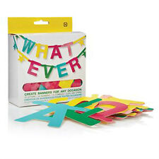 NPW WHATEVER DIY Make Your Own Banner Kit Create Banners for Any Occasion W7541